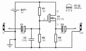 Guitar Preamp  U2013 Circuit Wiring Diagrams