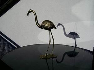 Flamingo Deko Figur : metallobjekte messing gefertigt nach 1945 zier ~ Lizthompson.info Haus und Dekorationen