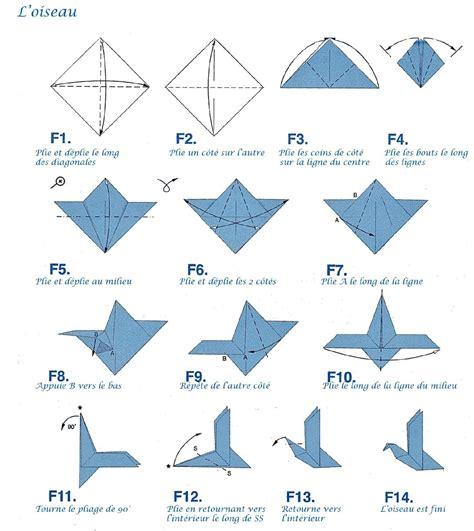 tuto origami facile tuto origami oiseau facile
