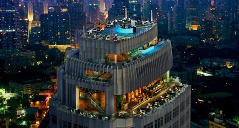 Marriott Gasl Rooftop Bar by Octave Lounge And Bar Thaibis Achiever