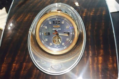 Image Bentley Bentayga Breitling Clock Size 1000 X 664