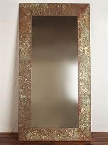 Mirror Framed Floor Mirror by Vintage 1920 S Large Tin Framed Mirror Frame Is Made Out