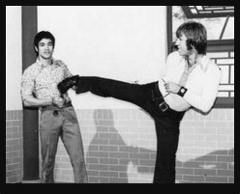 chuck norris on bruce lee bruce lee and chuck norris integrity martial arts