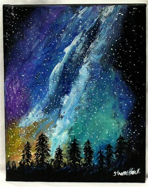 Aquarelle Milky Way Paint