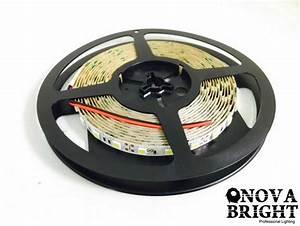Novabright 12v Ul Approved 5050smd Led Strip Light White