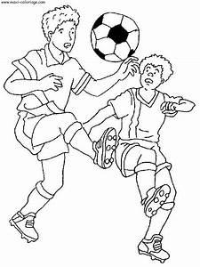 Coloriages Imprimer Football Numro 459846