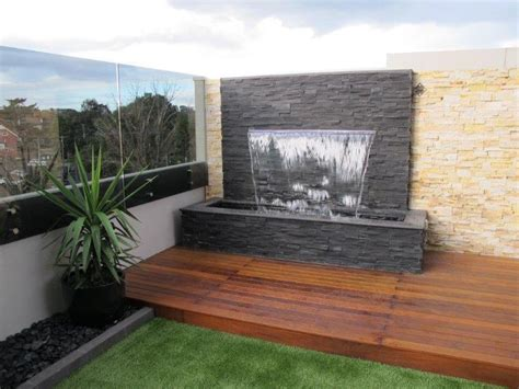 outdoor feature walls saver 1200 water feature wall kit projecting effect