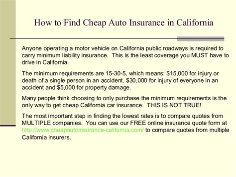 cheap coverage auto insurance cheap auto insurance in california