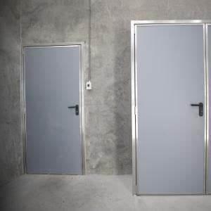 mse portes interieur encadrement inox panneaux sandwich With encadrement de porte interieur