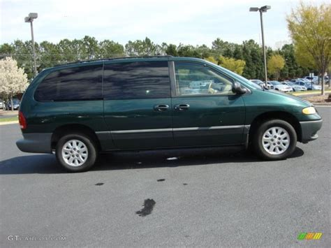 1999 Dodge Caravan by Forest Green Pearl 1999 Dodge Grand Caravan Se Exterior
