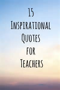 New Year Inspirational Quotes for Teachers