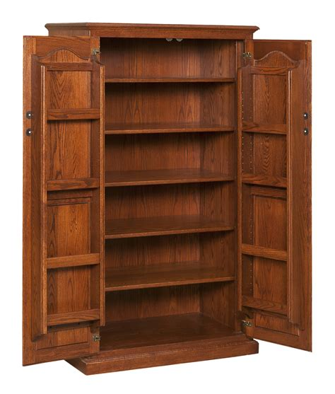 traditional pantry  spice storage amish furniture