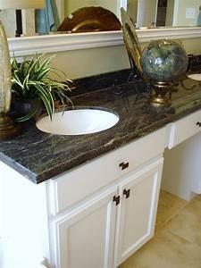 Interesting 60 custom bathroom vanity tops granite for White bathroom vanity with black countertop