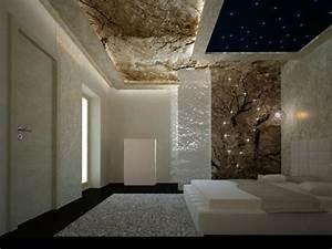 Sternenhimmel Fürs Schlafzimmer : 44 fotos sternenhimmel aus led f r ein luxuri ses interieur ~ Michelbontemps.com Haus und Dekorationen