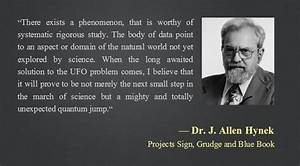 UFO Quotes From... Allen Hynek Quotes
