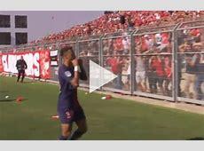 Neymar goal celebration for PSG vs Nimes video