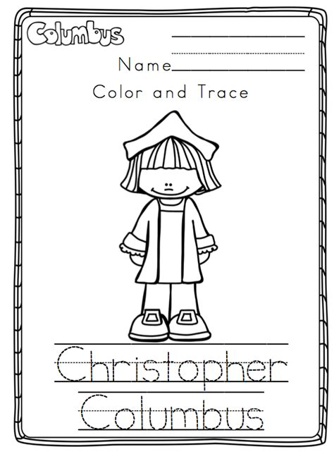 Columbus Day Printable 2014  Preschool Printables