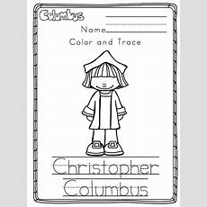 Columbus Day Printable 2014  Preschool Printables