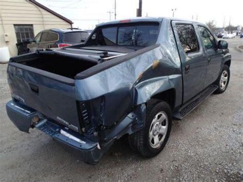 Sell Used 2008 Honda Ridgeline Rt, Salvage, 4x4, Damaged