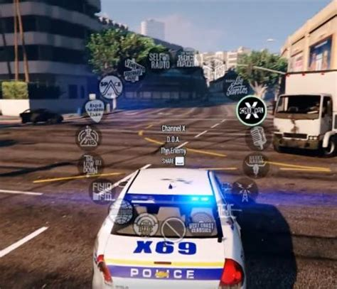 Music Radio Enabled For Police Vehicles