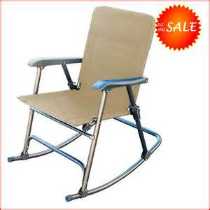 patio folding rocking chair lawn rocker porch swing seat portable armchair ebay