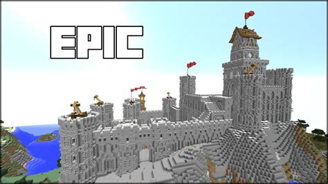 steps  build epic castles  minecraft easy  pc xbox ps ps mcpe youtube