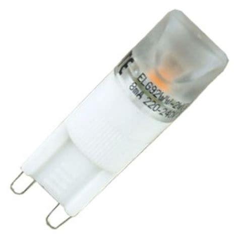 eterna elg92ww 2 wat g9 led capsule light bulb