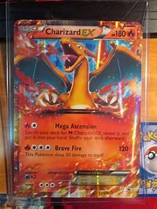 EX Jumbo/Oversized CHARIZARD EX Pokemon Card Black Star ...