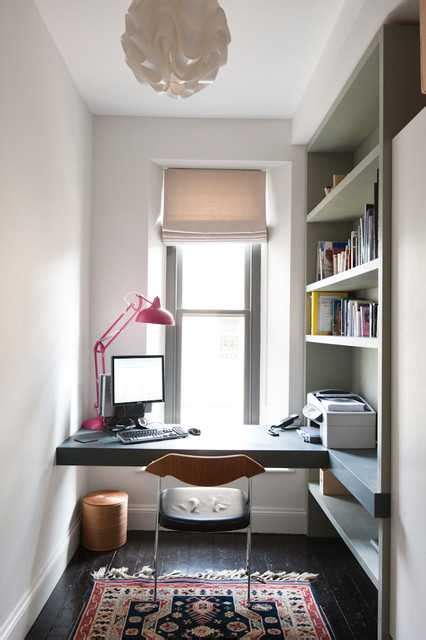 super functional mini home office designs