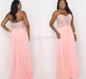 Semi formal plus size dresses for a wedding pluslookeu for Formal dress for wedding plus size