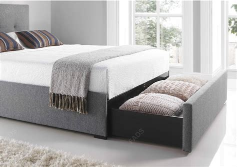 Kaydian Hexham Drawer Bed Smoke Grey  Free Delivery Fads