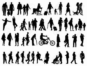 Image Gallery hiking silhouette clip art