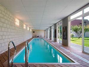 construction piscine interieure en normandie gregoire With construction piscine couverte chauffee