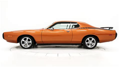 beautiful interior home 1973 dodge charger f62 houston 2013