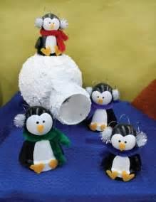 Clay Pot Penguin Crafts