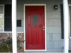 Front Door Paint Colors For Brick Homes by Posh Red Our Front Door Updated Home Depot Center