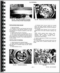 Massey Ferguson 245 Parts Diagram