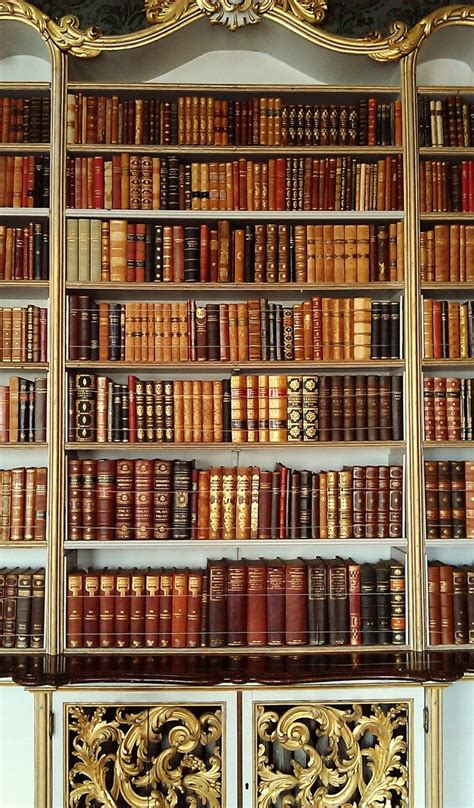 Beautiful Bookcase by A Beautiful Bookcase At Wrest Park Via