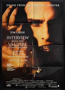 All About Movies - Interview With A Vampire 1994 One Sheet ...