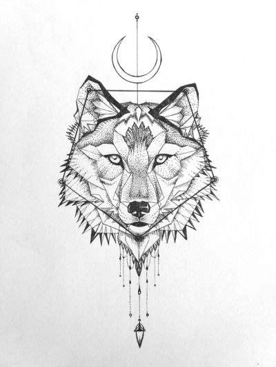 Geometric Wolf Tattoo Tumblr Tatto Love Tattoos