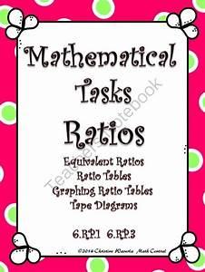 Ratios  Mathematical Tasks Equivalent Ratios  Ratio Tables