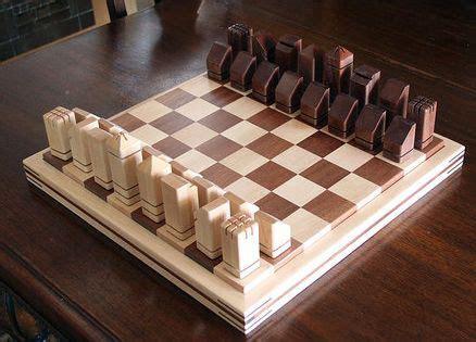 unique handmade wooden chess set lumberjocks projects
