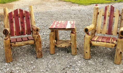 log furniture plans recycled crafts