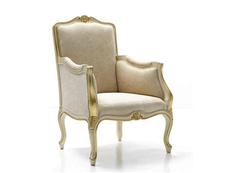 Poltrona Moeda Bergere : Classic Style Bergere Armchair With Armrests 3643 By