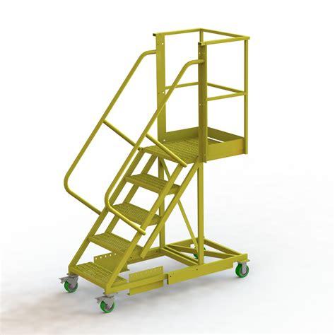 U Design Cantilever Ladder, Cantilever Rolling Ladder