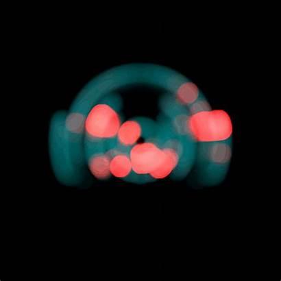 Blurry Futuristic Dippin Lights Dots Dark Gifer
