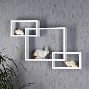 Wandregal Holz Weiß : modernes wandregal aus holz wei ~ Orissabook.com Haus und Dekorationen