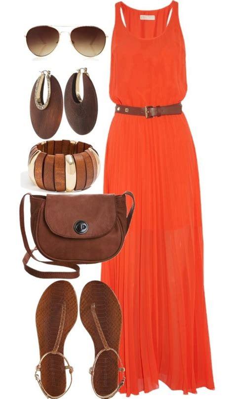 Voguish Burnt Orange Dresses 2018   FashionGum.com
