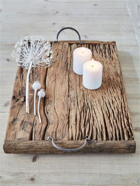 rustic reclaimed wood tray creative spotting