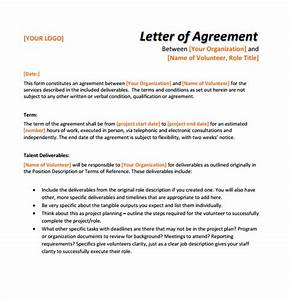 9 letter of agreement samples sample templates for Free letter of agreement